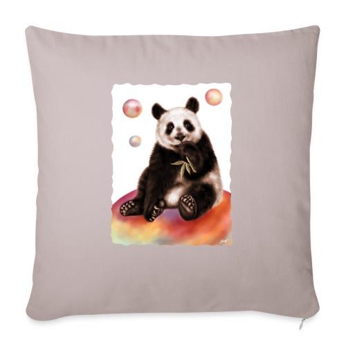 Panda World - Copricuscino per divano, 45 x 45 cm
