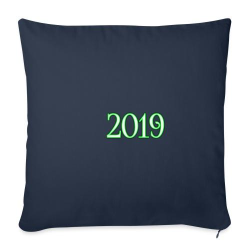 2019 - Sofa pillowcase 17,3'' x 17,3'' (45 x 45 cm)