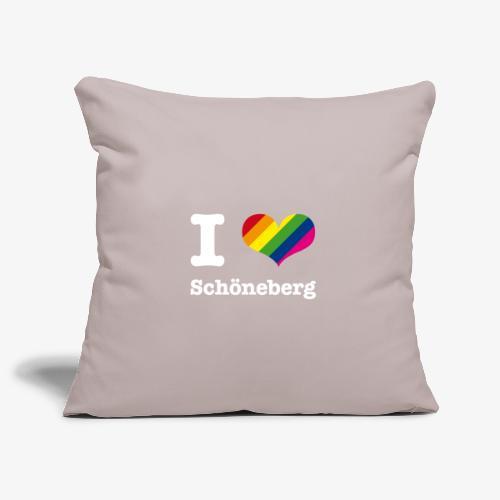I love Schöneberg Rainbow - Sofakissenbezug 44 x 44 cm