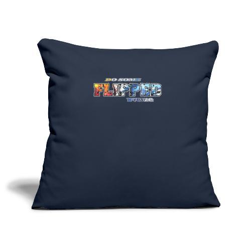 Flipped Racing, Do Some - Sofa pillowcase 17,3'' x 17,3'' (45 x 45 cm)