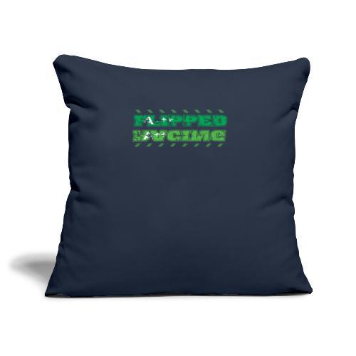 Flipped Racing, A-Plus No Logo - Sofa pillowcase 17,3'' x 17,3'' (45 x 45 cm)