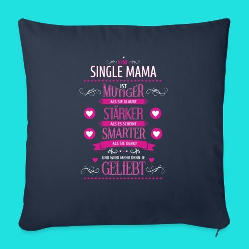 Single Mama - Sofakissenbezug 44 x 44 cm
