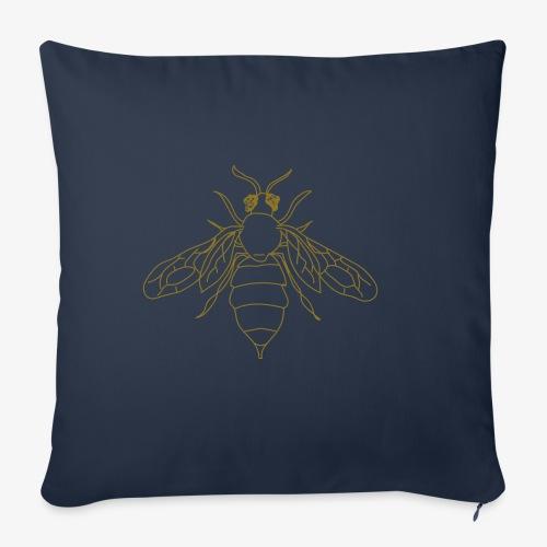 Honeybee - Sierkussenhoes, 45 x 45 cm