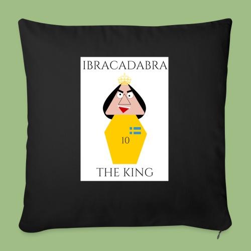 IBRACADABRA - THE KING - Soffkuddsöverdrag, 45 x 45 cm
