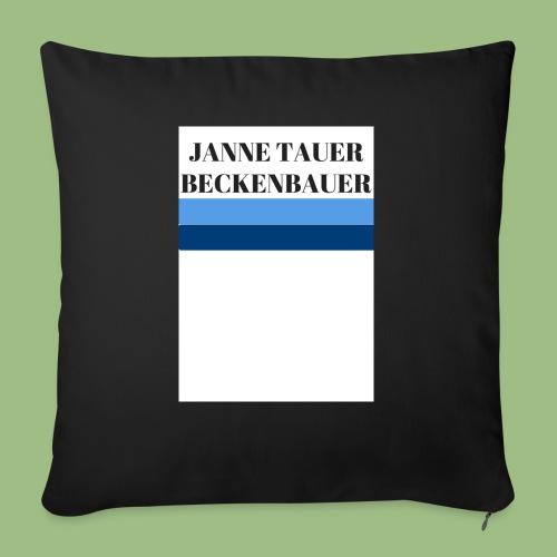 Janne Tauer BECKENBAUER - Soffkuddsöverdrag, 45 x 45 cm
