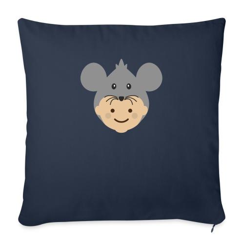 Mr Mousey | Ibbleobble - Sofa pillowcase 17,3'' x 17,3'' (45 x 45 cm)