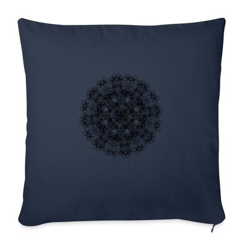 Flower mix - Poszewka na poduszkę 45 x 45 cm