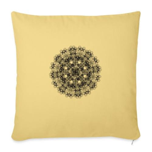 Flower mix - Sofa pillowcase 17,3'' x 17,3'' (45 x 45 cm)