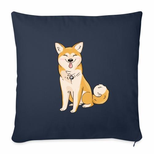 Akita Yuki Logo - Sofa pillowcase 17,3'' x 17,3'' (45 x 45 cm)