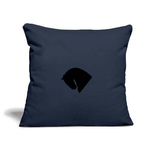 Cavallo - Copricuscino per divano, 45 x 45 cm