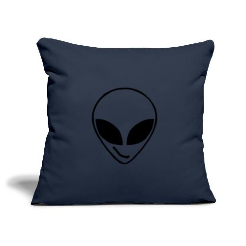 Alien simple Mask - Sofa pillowcase 17,3'' x 17,3'' (45 x 45 cm)