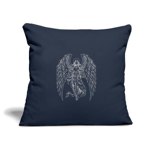 Angel White - Copricuscino per divano, 45 x 45 cm