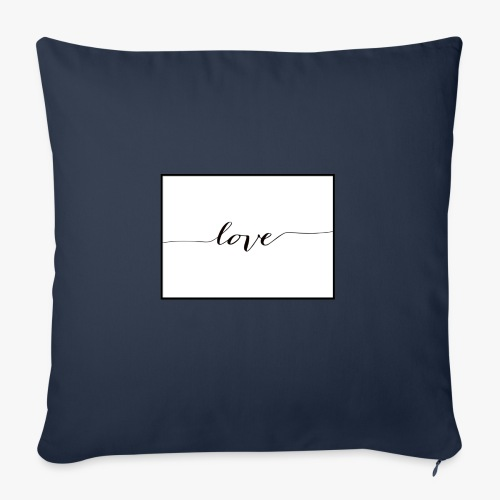 love - Poszewka na poduszkę 45 x 45 cm