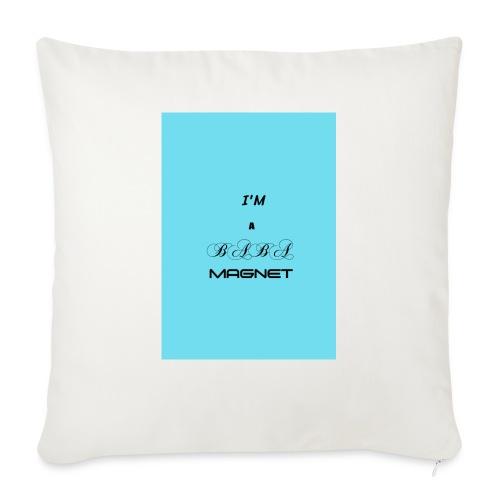 BABE MAGNET - Sofa pillowcase 17,3'' x 17,3'' (45 x 45 cm)