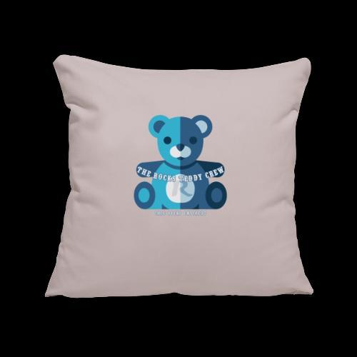Rocks Teddy Bear - Blue - Sierkussenhoes, 45 x 45 cm