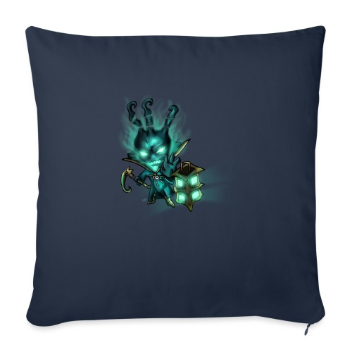 Chibi Thresh TAZZA - Copricuscino per divano, 45 x 45 cm