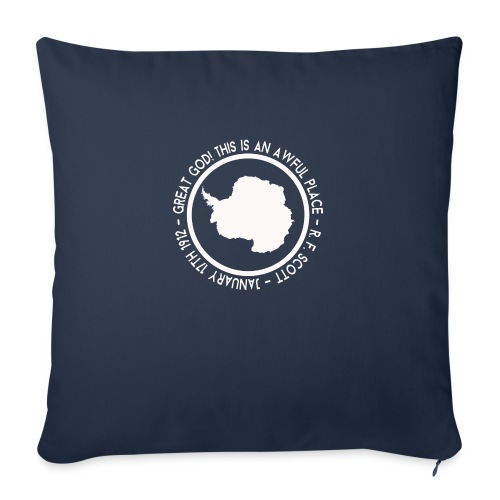 Great God! - Sofa pillowcase 17,3'' x 17,3'' (45 x 45 cm)