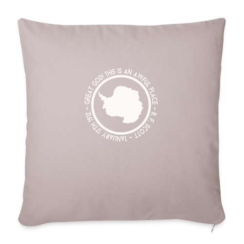 Great God! - Sofa pillowcase 17,3'' x 17,3'' (45 x 45 cm)