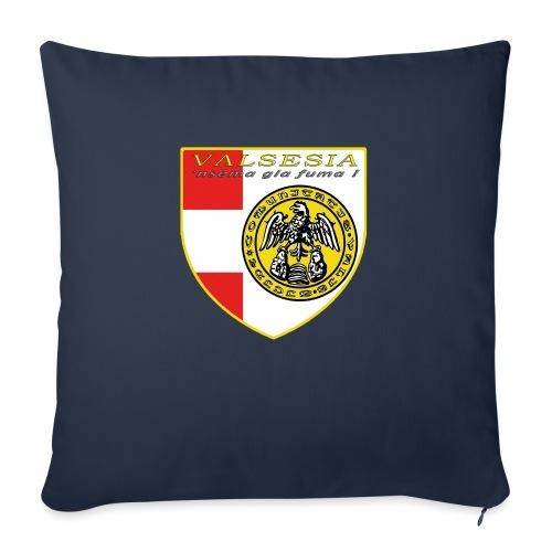 scudo simbolo comunità Valsesiana - Copricuscino per divano, 45 x 45 cm