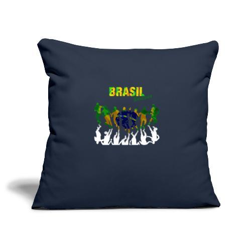 Brasil Soccer - Sofa pillowcase 17,3'' x 17,3'' (45 x 45 cm)