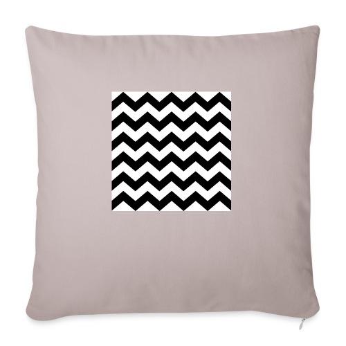 zigzag png - Housse de coussin décorative 45x 45cm