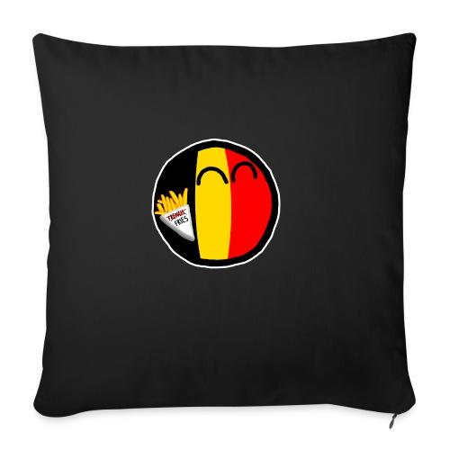 Belgiumball - Sofa pillowcase 17,3'' x 17,3'' (45 x 45 cm)