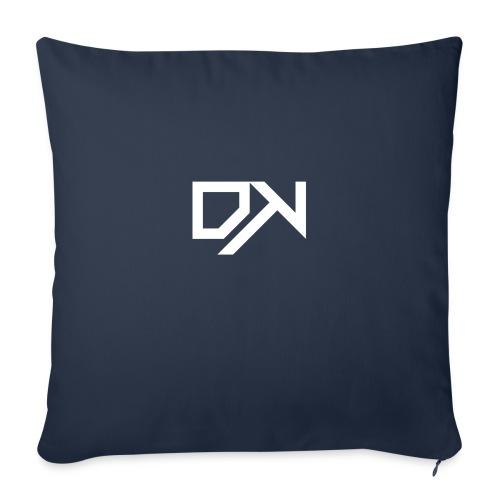 DewKee Logo Shirt Black - Sofa pillowcase 17,3'' x 17,3'' (45 x 45 cm)