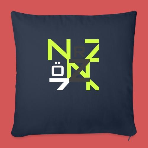 Nörthstat Group™ Clear Transparent Main Logo - Sofa pillowcase 17,3'' x 17,3'' (45 x 45 cm)