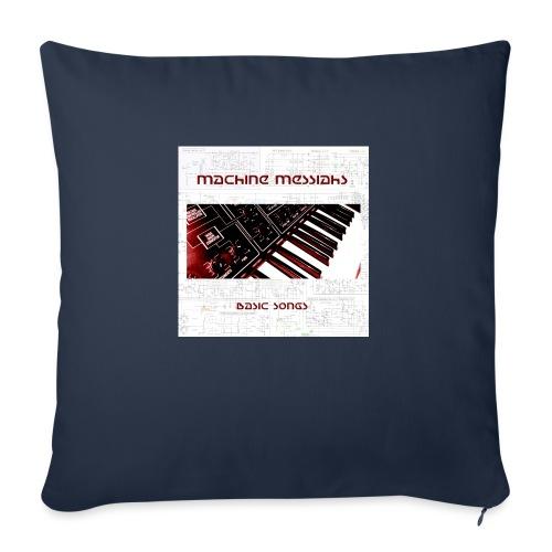 basic songs - Sofa pillowcase 17,3'' x 17,3'' (45 x 45 cm)