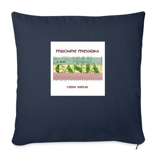 radio ganja - Sofa pillowcase 17,3'' x 17,3'' (45 x 45 cm)
