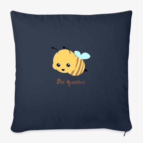 Bee Yourself - Pudebetræk 45 x 45 cm
