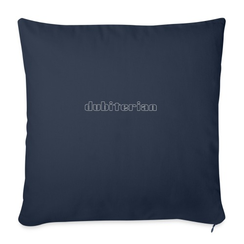 dubiterian1 gif - Sofa pillowcase 17,3'' x 17,3'' (45 x 45 cm)