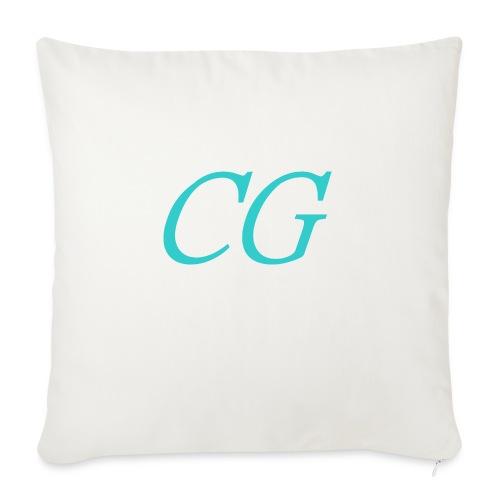 CG - Housse de coussin décorative 45x 45cm
