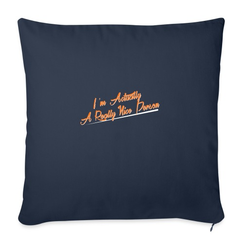 nice-person - Sofa pillowcase 17,3'' x 17,3'' (45 x 45 cm)