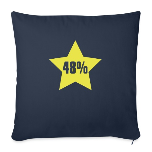 48% in Star - Sofa pillowcase 17,3'' x 17,3'' (45 x 45 cm)