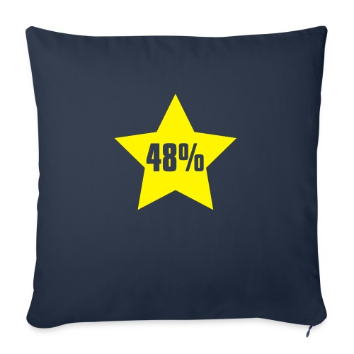 48% in Star - Sofa pillowcase 17,3'' x 17,3'' (45 x 45 cm)