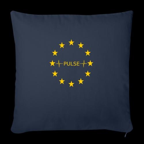 EU Pulse (Europe Pulse) - Sofakissenbezug 44 x 44 cm