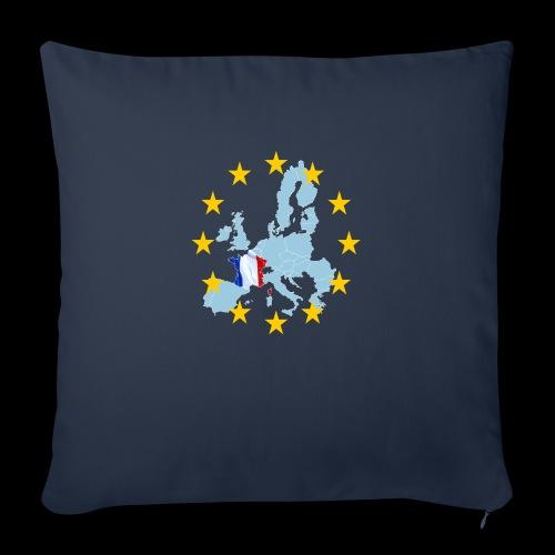 EU France (Frankreich Europa) - Sofakissenbezug 44 x 44 cm