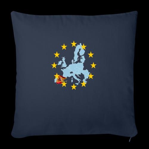 EU Spain (Europa Spanien) - Sofakissenbezug 44 x 44 cm