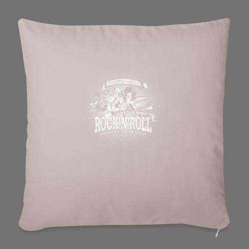 Rock 'n' Roll - Sounds Like Heaven (white) - Sofa pillowcase 17,3'' x 17,3'' (45 x 45 cm)