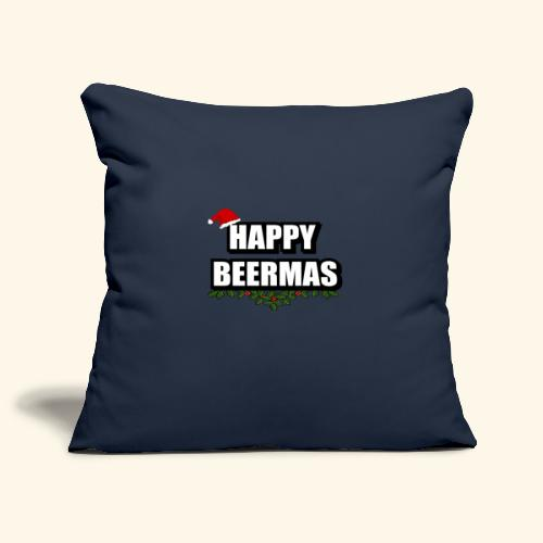 HAPPY BEERMAS AYHT - Sofa pillowcase 17,3'' x 17,3'' (45 x 45 cm)