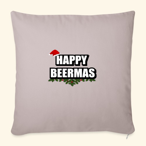 HAPPY BEERMAS AYHT - Sofa pillowcase 17,3'' x 17,3'' (45 x 45 cm)