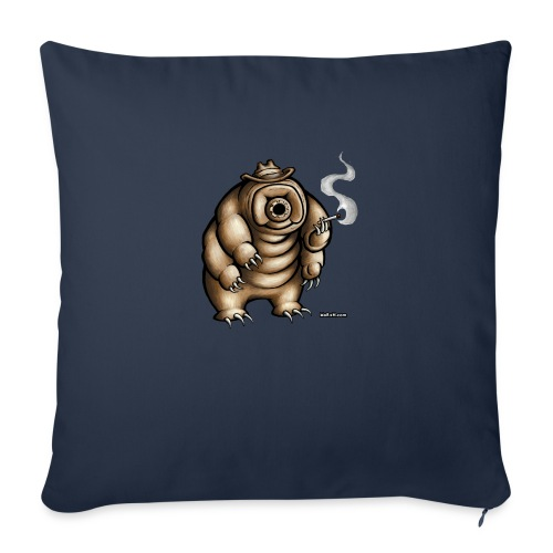 Smokey the Water Bear - Sofa pillowcase 17,3'' x 17,3'' (45 x 45 cm)
