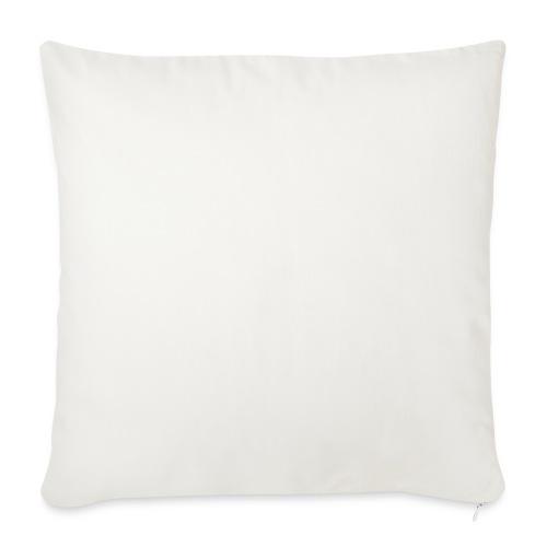White V - Housse de coussin décorative 45x 45cm