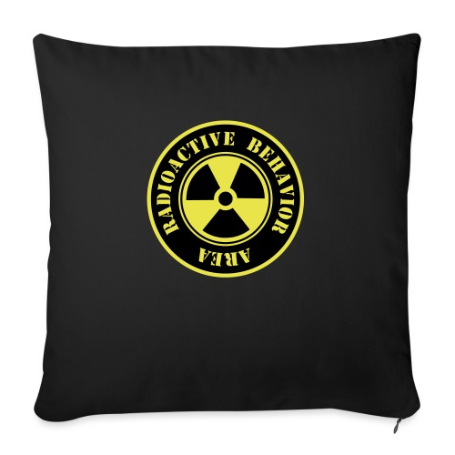 Radioactive Behavior - Funda de cojín, 45 x 45 cm