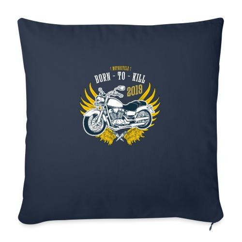 Motorcycle4 - Funda de cojín, 45 x 45 cm