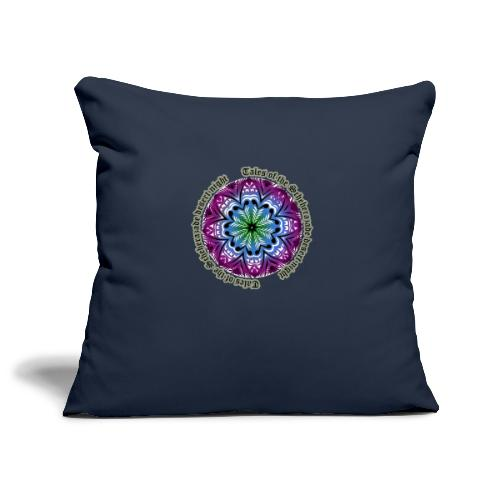 Tales of the Scheherazade desert night - Sofa pillowcase 17,3'' x 17,3'' (45 x 45 cm)