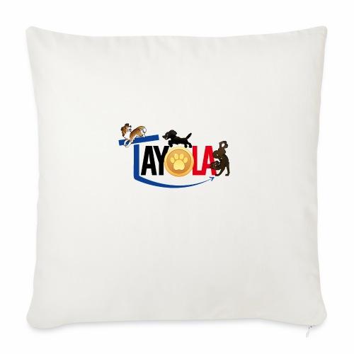 TAYOLA logo 2019 HD - Housse de coussin décorative 45x 45cm