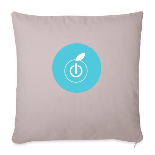 AppleZein Logo Grande - Copricuscino per divano, 45 x 45 cm