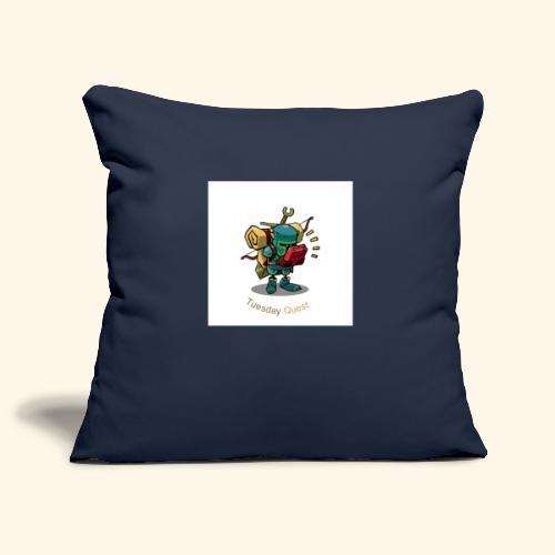 Tuesday Quest Logo - Sofa pillowcase 17,3'' x 17,3'' (45 x 45 cm)